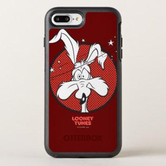 Coque OtterBox Symmetry iPhone 8 Plus/7 Plus Icône d'E. Coyote Dotty de Wile