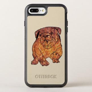 Coque OtterBox Symmetry iPhone 8 Plus/7 Plus iPhone d'OtterBox Apple de bouledogue français 8