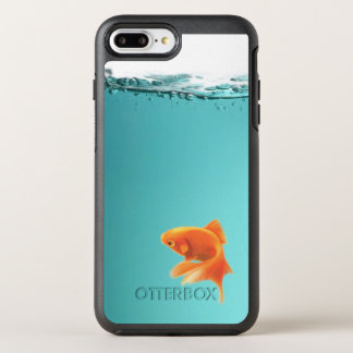 Coque OtterBox Symmetry iPhone 8 Plus/7 Plus iPhone X/8/7 d'Apple de poisson rouge plus le cas