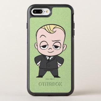 Coque OtterBox Symmetry iPhone 8 Plus/7 Plus Le bébé de patron | je ne suis aucun bébé