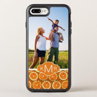 Coque OtterBox Symmetry iPhone 8 Plus/7 Plus Le motif orange | de tranche ajoutent votre photo