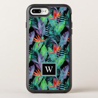 Coque OtterBox Symmetry iPhone 8 Plus/7 Plus L'oiseau d'aquarelle du paradis | ajoutent votre