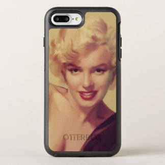 Coque OtterBox Symmetry iPhone 8 Plus/7 Plus Marilyn dans le noir