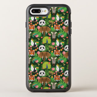 Coque OtterBox Symmetry iPhone 8 Plus/7 Plus Mélange animal tropical
