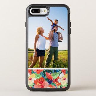 Coque OtterBox Symmetry iPhone 8 Plus/7 Plus Motif coloré de ketmie de photo