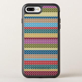 Coque OtterBox Symmetry iPhone 8 Plus/7 Plus Motif coloré de regard de Knit