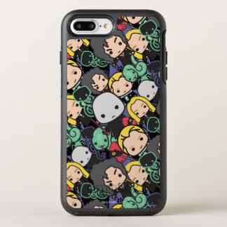 Coque OtterBox Symmetry iPhone 8 Plus/7 Plus Motif de lancer de mangeurs de la mort de Harry