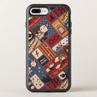 Coque OtterBox Symmetry iPhone 8 Plus/7 Plus Motif de scènes de bande dessinée de Harry Potter