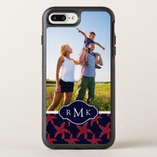 Coque OtterBox Symmetry iPhone 8 Plus/7 Plus Motif | de style d'étoiles de mer votre photo et