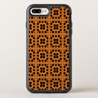 Coque OtterBox Symmetry iPhone 8 Plus/7 Plus Motif d'or de nid d'abeilles