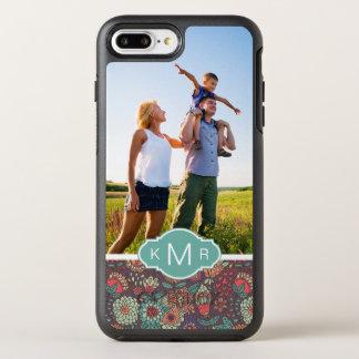 Coque OtterBox Symmetry iPhone 8 Plus/7 Plus Motif floral de photo et de bande dessinée de