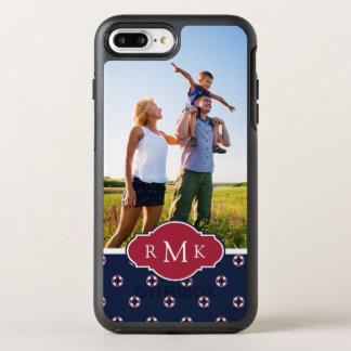 Coque OtterBox Symmetry iPhone 8 Plus/7 Plus Motif rouge et blanc | de balise votre photo et