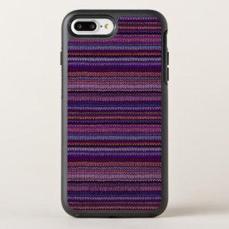 Coque OtterBox Symmetry iPhone 8 Plus/7 Plus Motif tricoté coloré