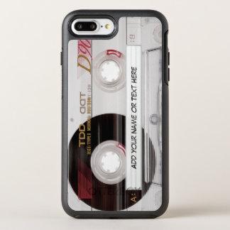 Coque OtterBox Symmetry iPhone 8 Plus/7 Plus Regard drôle vintage d'enregistreur à cassettes