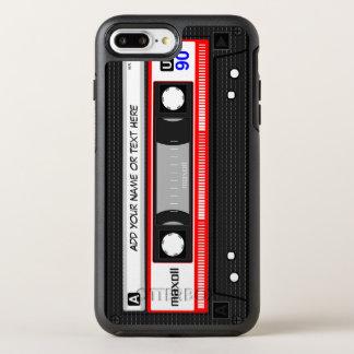 Coque OtterBox Symmetry iPhone 8 Plus/7 Plus Rétro vieille cassette audio drôle de mode de