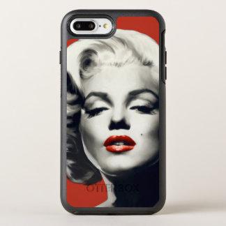 Coque OtterBox Symmetry iPhone 8 Plus/7 Plus Rouge sur les lèvres rouges Marilyn
