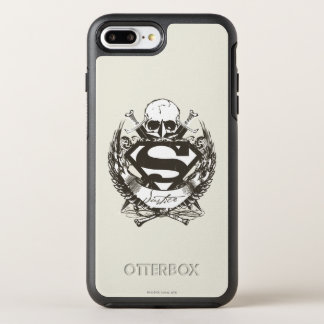 Coque OtterBox Symmetry iPhone 8 Plus/7 Plus Superman a stylisé le logo de justice de |