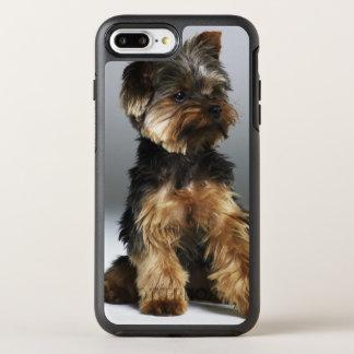 Coque OtterBox Symmetry iPhone 8 Plus/7 Plus Terrier de Yorkshire, plan rapproché