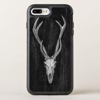 Coque OtterBox Symmetry iPhone 8 Plus/7 Plus Tête rustique d'animal de cerfs communs
