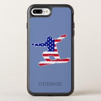 Coque OtterBox Symmetry iPhone 8 Plus/7 Plus Tient le premier rôle SURFEUR de rayures du ` n
