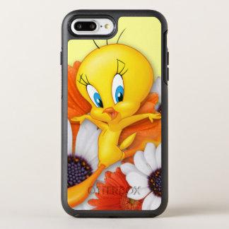 Coque OtterBox Symmetry iPhone 8 Plus/7 Plus Tweety avec des marguerites