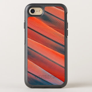 Coque Otterbox Symmetry Pour iPhone 7 Abrégé sur rouge plume d'ara
