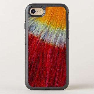 Coque Otterbox Symmetry Pour iPhone 7 Abrégé sur rouge plume de toucan de Breasted
