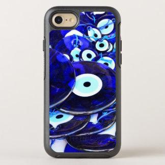 Coque Otterbox Symmetry Pour iPhone 7 Amulettes bleues d'oeil mauvais