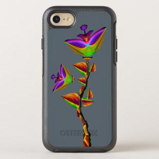 Coque Otterbox Symmetry Pour iPhone 7 Art de fleur de Bloomfasia