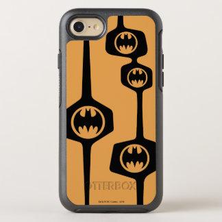 Coque Otterbox Symmetry Pour iPhone 7 Cadre orange noir de Batman