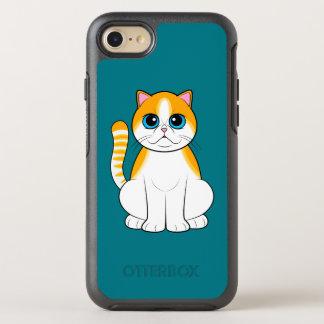 Coque Otterbox Symmetry Pour iPhone 7 Chat exotique