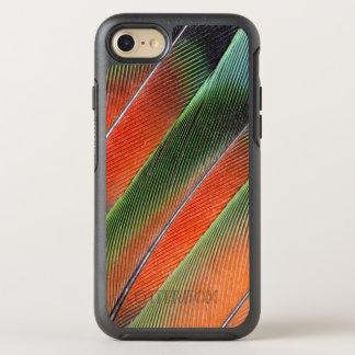 Coque Otterbox Symmetry Pour iPhone 7 Conception de plume de queue de perruche