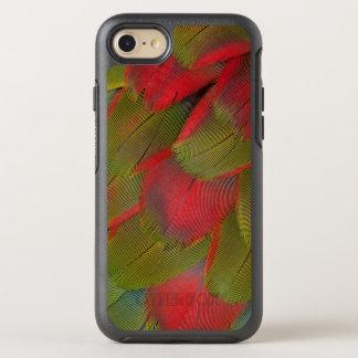 Coque Otterbox Symmetry Pour iPhone 7 Conception de plume de sein d'ara