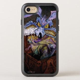 Coque Otterbox Symmetry Pour iPhone 7 Coyote du Wile E un dingue dans la boîte