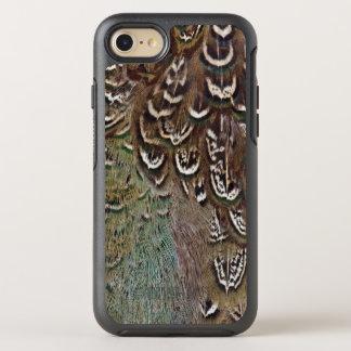 Coque Otterbox Symmetry Pour iPhone 7 Détail de plume de faisan de Melanistic