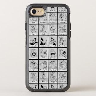 Coque Otterbox Symmetry Pour iPhone 7 Diagramme LOONEY d'émotion de caractère de TUNES™
