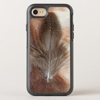 Coque Otterbox Symmetry Pour iPhone 7 D'oie de plume toujours la vie égyptienne