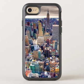 Coque Otterbox Symmetry Pour iPhone 7 Empire State Building et Midtown Manhattan