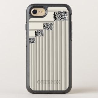 Coque Otterbox Symmetry Pour iPhone 7 Les hommes de gamme de gris de mineurs de Bitcoin