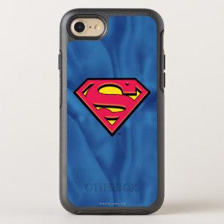 Coque Otterbox Symmetry Pour iPhone 7 Logo classique du S-Bouclier   de Superman