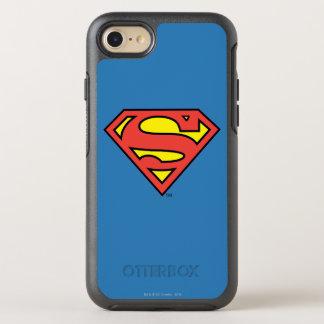 Coque Otterbox Symmetry Pour iPhone 7 Logo du S-Bouclier   Superman de Superman