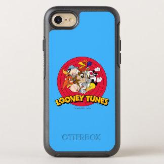 Coque Otterbox Symmetry Pour iPhone 7 Logo Looney de caractère d'airs