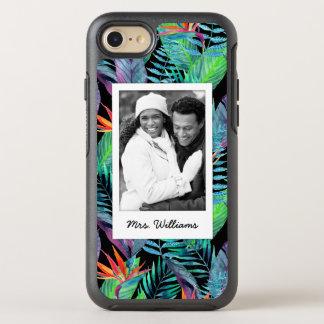 Coque Otterbox Symmetry Pour iPhone 7 L'oiseau du paradis   ajoutent votre photo et