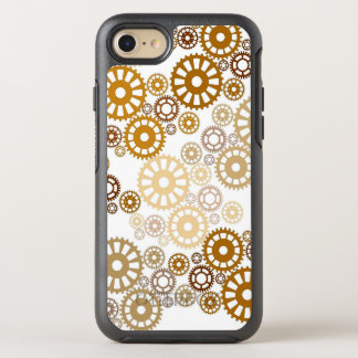 Coque Otterbox Symmetry Pour iPhone 7 Motif blanc frais de Steampunk