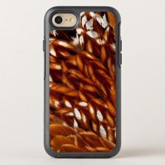 Coque Otterbox Symmetry Pour iPhone 7 Motif de plume de faisan de tonnelier