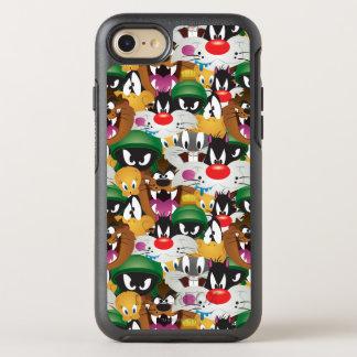 Coque Otterbox Symmetry Pour iPhone 7 Motif LOONEY de TUNES™ Emoji