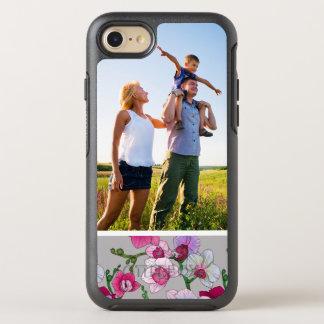 Coque Otterbox Symmetry Pour iPhone 7 Orchidées roses de photo en fleur