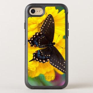 Coque Otterbox Symmetry Pour iPhone 7 Papillon noir de machaon