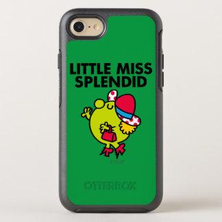 Coque Otterbox Symmetry Pour iPhone 7 Petit lettrage noir de Mlle Splendid  