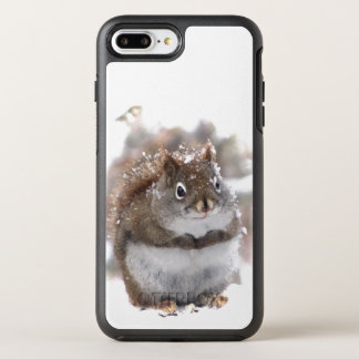 Coque Otterbox Symmetry Pour iPhone 7 Plus Animal doux d'écureuil de Brown